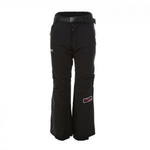 8848 Altitude Track Junior Stretch Pants Lasketteluhousut Musta