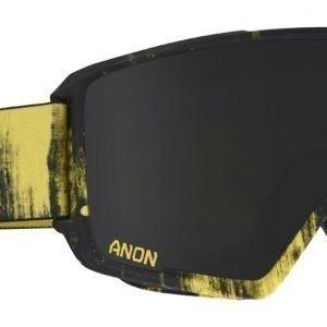 Anon M3 Mfi 15239100 706 Keltainen-musta kuvioitu Laskettelulasit