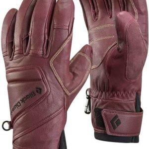 Black Diamond Legend Gloves Lasketteluhanskat Tummanpunainen