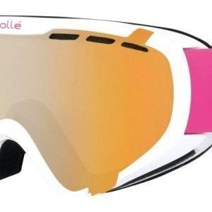 Bolle Junior 12141 21349 Shiny White Valkoinen-pinkki Laskettelulasit