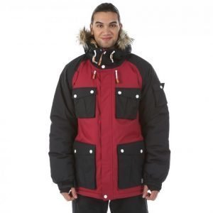 Colour Wear Clwr Roots Jacket Laskettelutakki Punainen
