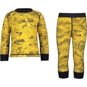 Everest Print Wool Underwear Set Kerrasto