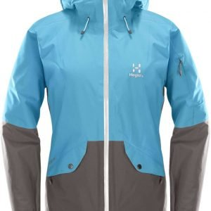Haglöfs Khione Womens Insulated Jacket Laskettelutakki Tummanharmaa