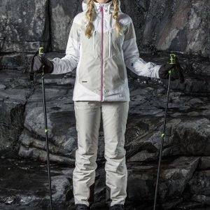 Halti Raitti Jacket Laskettelutakki Valkoinen