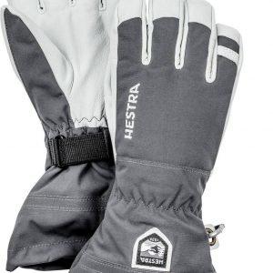 Hestra Army Leather Heli Ski Glove Lasketteluhanskat Harmaa