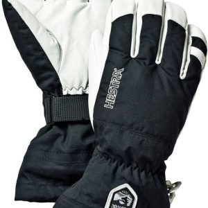 Hestra Army Leather Heli Ski Glove Lasketteluhanskat Musta