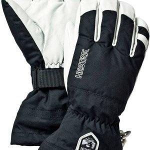 Hestra Army Leather Heli Ski Glove Lasketteluhanskat Musta
