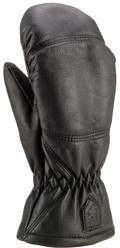 Hestra Leather Box Mitt Lasketteluhanskat Musta