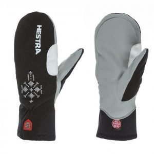 Hestra Windstopper Breeze Female Mitt Lasketteluhanskat Musta