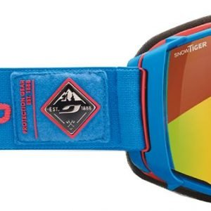 Julbo Aerospace Bleu / Rouge Snowtiger Laskettelulasit