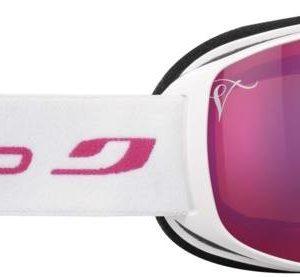 Julbo Pioneer Blanc / Rose Rose Flash Pink Laskettelulasit