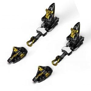 Marker Kingpin 10 Laskettelusiteet Musta / Kulta