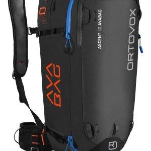 Ortovox Ascent 30 Avabag Lumivyöryreppu Musta