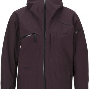 Peak Performance Heli Alpine Jacket Tummanpunainen