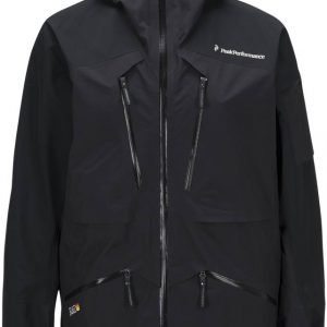 Peak Performance Heli Vertical Jacket Laskettelutakki Musta