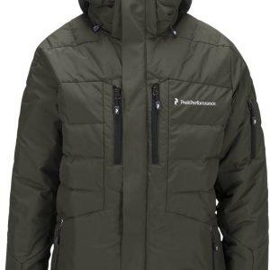 Peak Performance Shiga Jacket Laskettelutakki Tummanvihreä