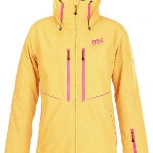 Picture Exa Jacket Laskettelutakki Keltainen