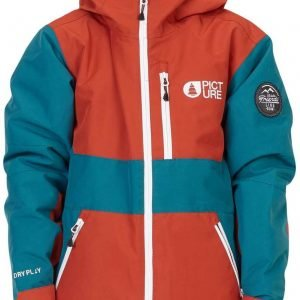 Picture Slope Jr Jacket Laskettelutakki Tiili