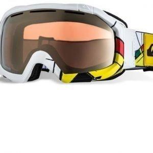 Quiksilver Goggles Facet Orbicular EEQYTG00019 Valkoinen Laskettelulasit