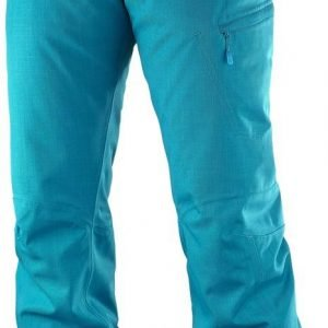 Salomon Fantasy Pant Lasketteluhousut Turkoosi