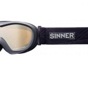 Sinner Chameleon SIGO-148-10-03 Matta musta Laskettelulasit