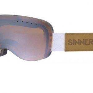 Sinner Eaglerock SIGO-159-30-03 Matta valkoinen Laskettelulasit